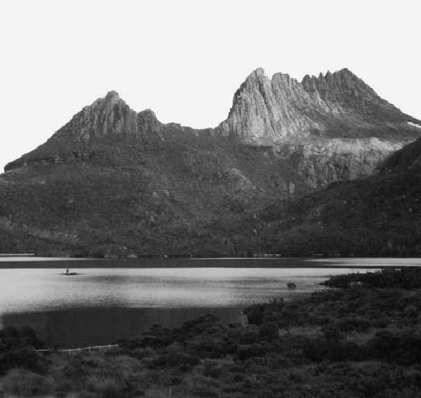 Cradle Mountain in Tasmania