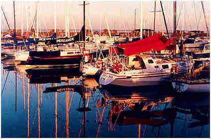 Hastings Boat Marina in Western Port Bay - Victoria