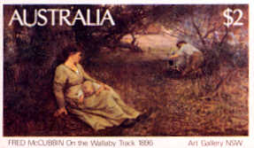 On the Wallaby Track, by Frederick McCubbin.